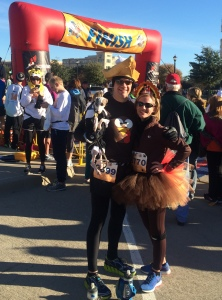 Turkey Trot Finish